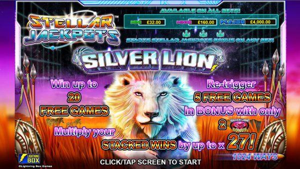 Stellar Silver Lion